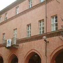 """Restauro conservativo casa medievale detta \""""Loggia dei mercanti\"""" in Via Cavour"""